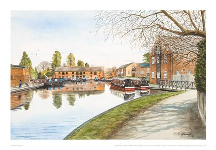 Linda Chambers - The Canal Basin - Market Harborough