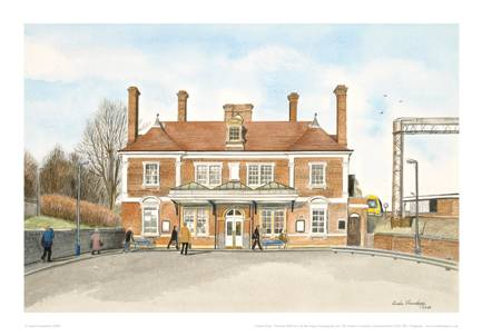 Linda Chambers - The Railway Station - Market Harborough