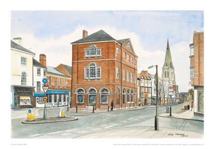 Linda Chambers - The Old Town Hall - Market Harborough