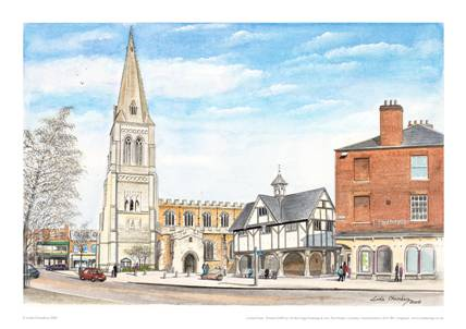 Linda Chambers - The High Street - Market Harborough
